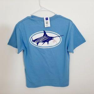 Guy Harvey Boys T-shirt Size Medium Blue U6